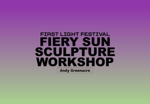 Fiery Sun Sculpture Workshop