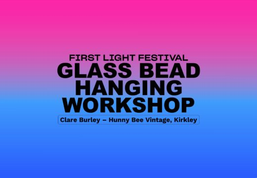 Glass Bead Hanging Workshop