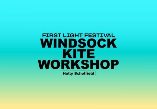 Windsock Kite Workshop